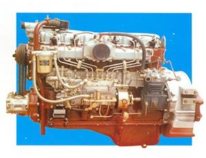 Un essai réussi a produit le premier moteur diesel 6110 A dévoilé le prélude du changement de vitesse pour produire un moteur diesel pour véhicule
