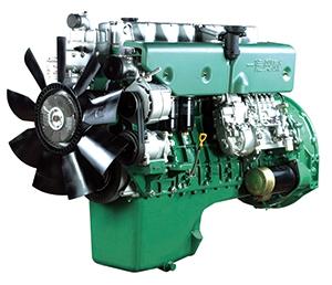 Création d'entreprise pour la troisième fois Production d'essai réussie du moteur diesel CA6DL