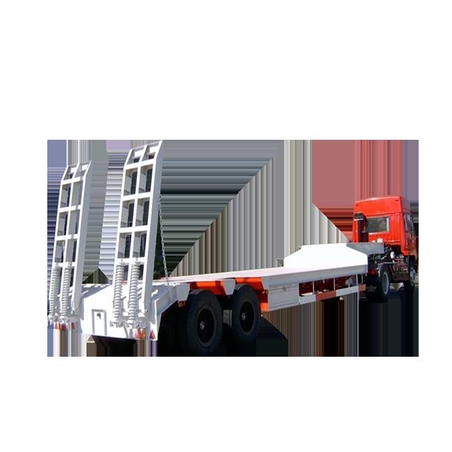 Low-bed Semi-trailer